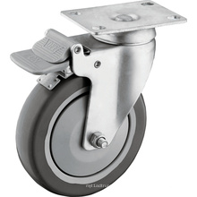 Mittelschwere 5 Zoll Top Plate Caster Wheels