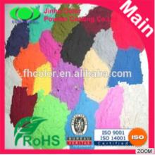 Electrostatic spray powder coatings powder paints