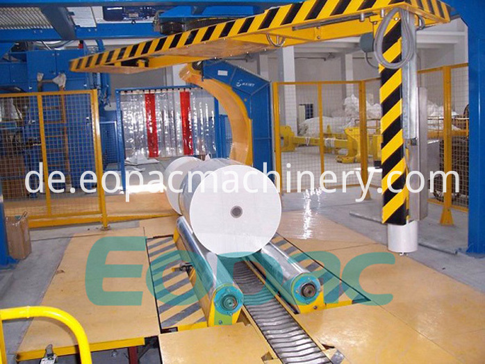 High Quality Stretch Film Packaging Machine