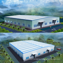 Prefabricated Steel Warehouse Steel Structure Building 001