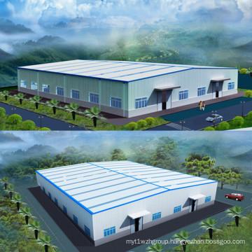 Prefabricated Steel Warehouse Steel Structure Building 001
