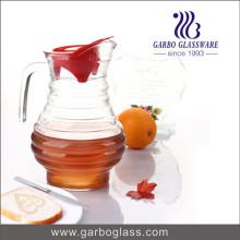 Bouilloire à eau en verre spirale à spirale 1,7L (GB1113F)