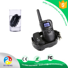 Rechargeable and Waterproof E-collar with with Back Light LCD Display PET998DB Dog fashion Collar 998DB 300M Waterproof Rechargeable LCD Dog Training Collar