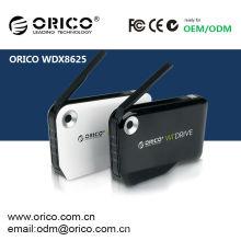 ORICO WDX-8625 WiFi WIDRIVE Boîtier HDD 2,5 pouces sans fil Disque dur HDD Stockage sans fil