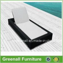PE Rattan Chaise Lounge Hotel Furniture