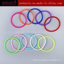 Eco-amigable pulsera de silicona de colores