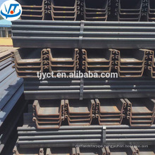 400X150 mm carbon U type hot rolled steel sheet pile SY295 SY390