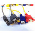 USB 2.0 Panel Mount Kabel Dengan Skru