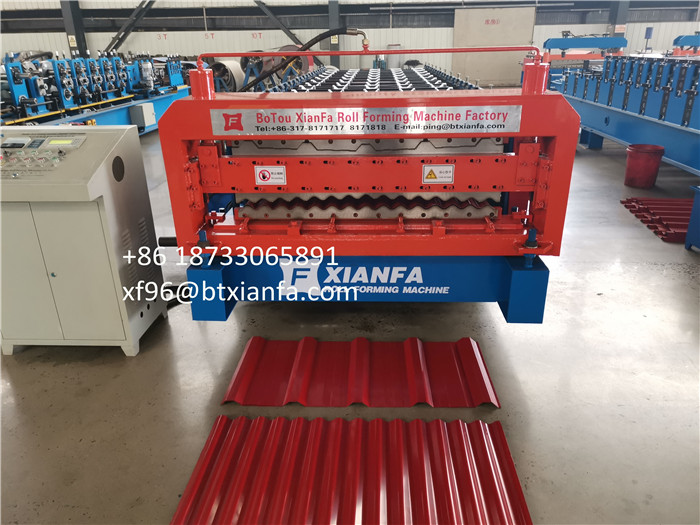 Color Roofing Machine