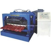 Máquina perfiladora de tejas de acero galvanizado con estándar CE