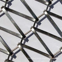 Stainless Steel Flat Wire Conveyor Wire Mesh