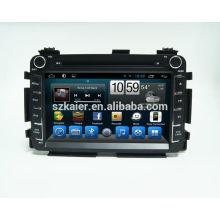 Reproductor de DVD quad core para coche para HONDA VEZEL / HR-V con GPS / Bluetooth / TV / 3G