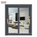 Powder Coated Aluminum 96 x 80 Sliding Glass Door For Bedroom