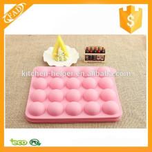 Molde divertido de la torta del silicón de la alta calidad Molde encantador de la torta del silicón