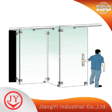 Exterior Glass Folding Door Hardware