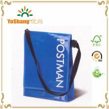 BOPP Laminated PP Woven Bag, Postman Woven Bag with Single Adjusatble Handle