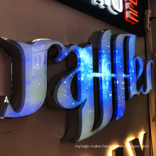 Bling Metal Letter Led Crystal Acrylic Letters Sign Display Lighted Words Decorative Lights Lasercut Acrylic Letters Signboard