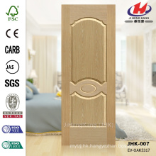 JHK-007 Various Style Home Depot Plywood Engineered ASH HDF Mold Veneer Door Skin China Factory                                                                         Quality Assured