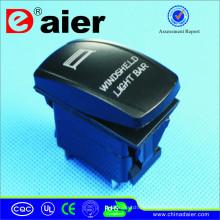Mini wasserdichter Schalter mit Lasergravur