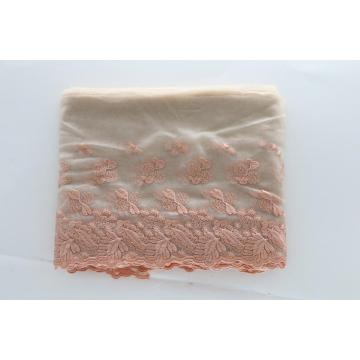 French fashion netting embroidery 3d lace fabric