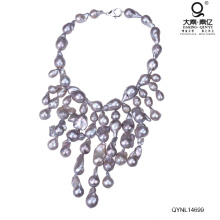 Heavy Pearl Necklace Rare Spark Pearl