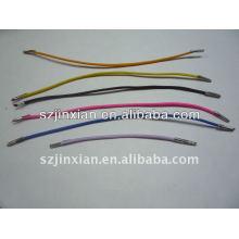 Corde élastiques élastique avec extrémité en métal / corde élastique avec métal
