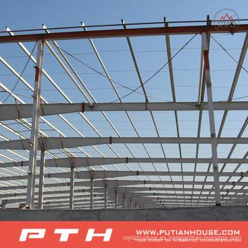 Instalación fácil Almacén de estructura de acero económico prefabricado fácil de la instalación
