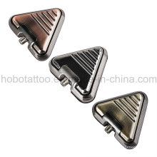 Marca tatuaje de calidad suministros Aliminum triángulo tatuaje pie pedal del interruptor de pie