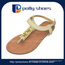 2016 Fashion Summer Ladies Leather Sandal