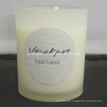 Home Decor Scented Frosted Glass Candle