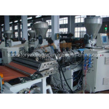 Plastic PVC Corrugated Wave Roof Sheet/Board Extrusion Line