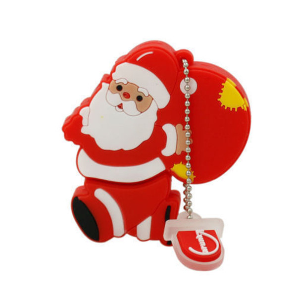 Santa Clause Shaped USB Flash Drive
