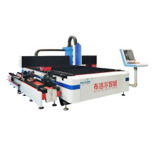 Stainless steel pipe sheet fiber laser cutting machine