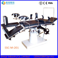 China Competitive Manual Orthopedic General Use Surgical Operating Table