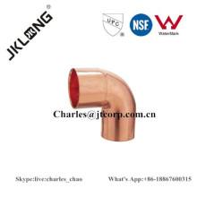 Codo de 90 grados FTG * C encaje de tubería de cobre / conexión AC