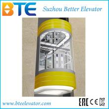 Eac 1000kg Bonne décoration Ascenseur panoramique sans salle de machines