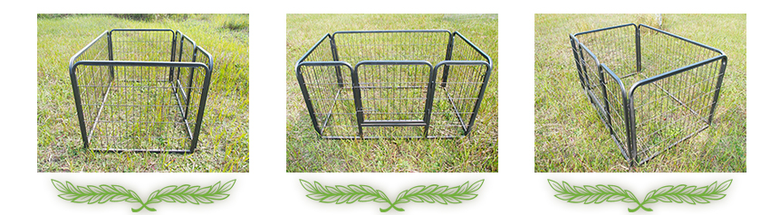 large metal dog crate