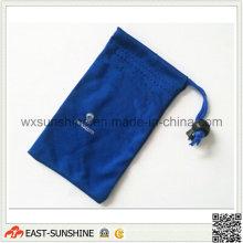Синий чехол из микрофибры для очков (DH-MC0396)