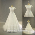 Hot sell new model 2017 wedding bride dress strapless off shoulder evening toast dress wedding dress