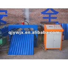 QJ Auto Wellenprofil Roofing Sheet Rollbiegemaschine