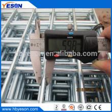 Anping Buena calidad 4ft x 10ft electro galvanizado después de la hoja de malla de alambre de soldadura fábrica