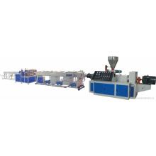 Sjsz - 65/132 extrusora de doble husillo Línea de producción de tubos de PVC