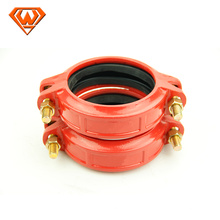 grooved flexible coupling with bolt and rubber
