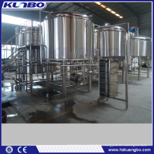 KUNBO 30BBL 4000L Industrial Brewing Equipment with Lauter / Mash / Whirlpool / Brew Kettle