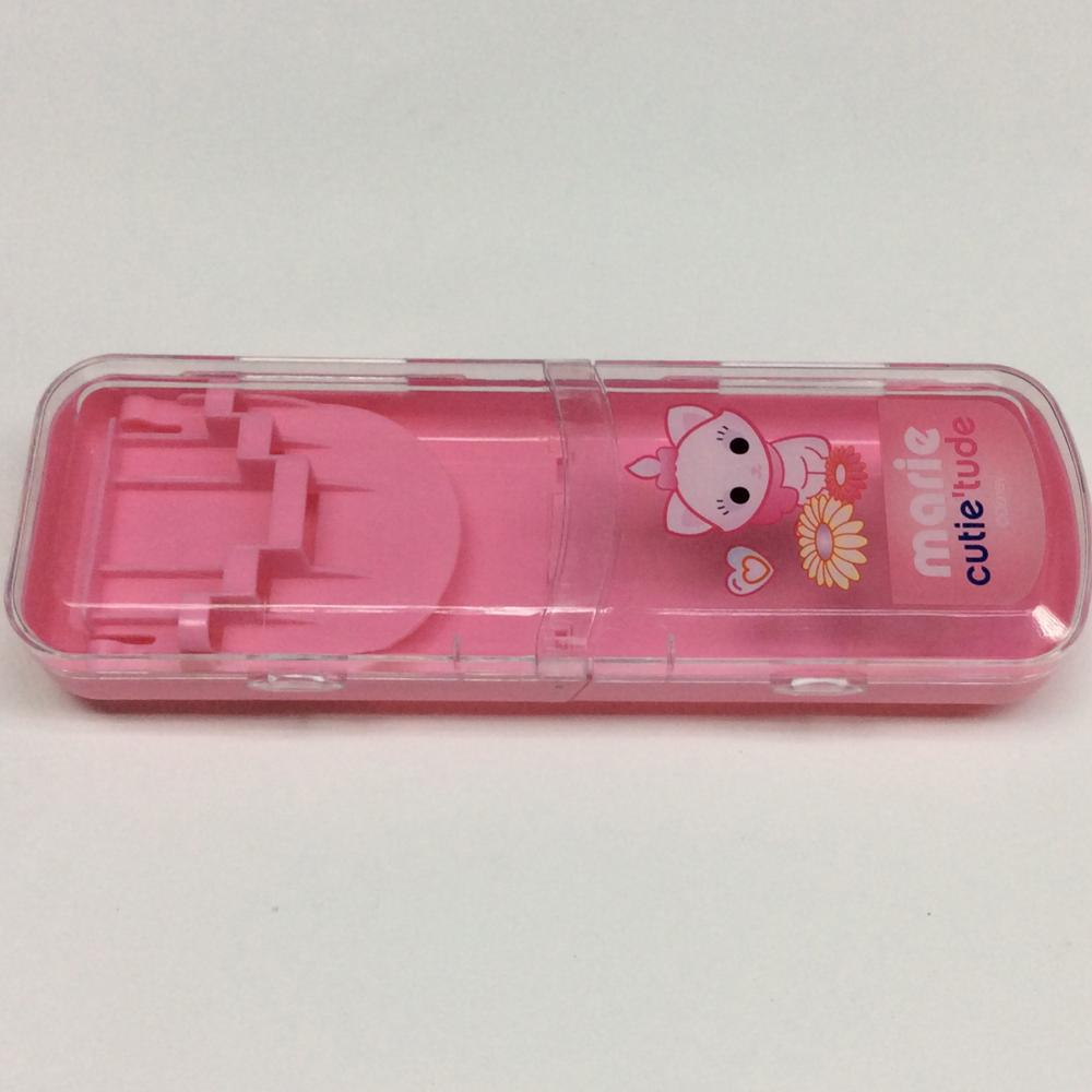Plastic Folding Pencil Box
