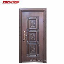 TPS-049 China Fabricación de puerta de vidrio de acero de una sola puerta