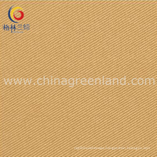 Cotton Twill Elastic Fabric with Peached Skin for Clothing (GLLMMSK002)