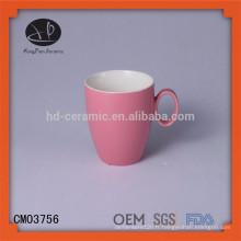 Vente chaude de tasse en porcelaine en matières premières en plastique tasse en céramique en céramique