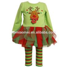 pull manches longues 2 pièces pyjama pour enfants Noël