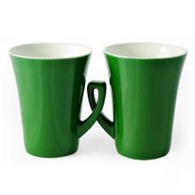 Verschiedene neue Knochen China Commercial Keramik Kaffeetassen